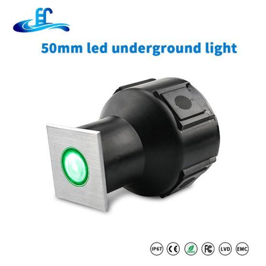 1W 3W IP65 Step Outdoor LED Garden Patio Landscape Decor Deck Underground Light