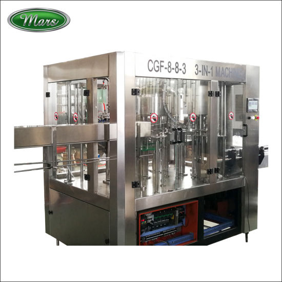 8-8-3 Small Combiblock Bottle Mineral Water Filling Machines