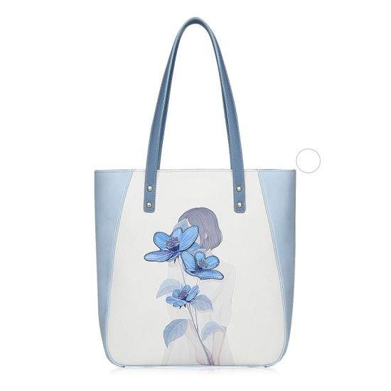 2019ss Floral Print Fashion Handbag Girl Shoulder Bag pictures & photos