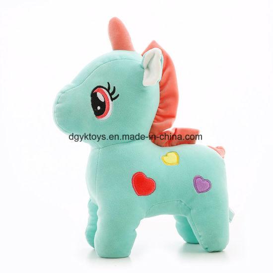 Good Quality Custom Adorable Cute New Unicorn Stuffed Doll Plush Toy Animals Children Toy