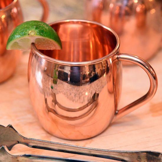 4 X 100/% Copper Drinking Plain Glass Cup Tumbler Mug 200 ml Ayurveda Health yoga
