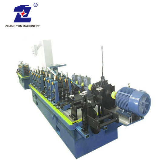 High Speed Rectangle Tube Stainless Steel Pipe Production Line