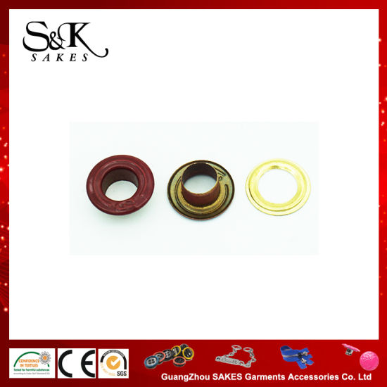 Painting Color High Quality Metal Eyelet Gromet for Cloth