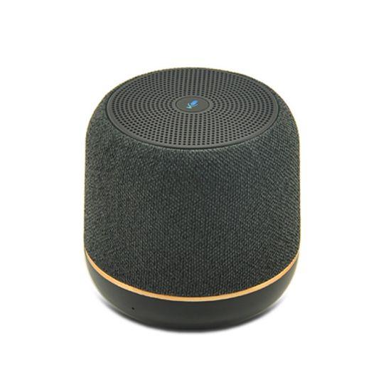 Mini Fabric Portable Wireless Bluetooth Speaker with TF Card FM Radio