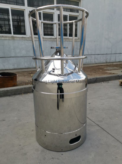 55 Gallon Lithium Battery Electrolyte Stainless Steel Barrels