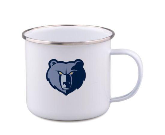 Customized Enamel Painting Stainless Steel Rim Enamel Camping Mug Wholesale Custom Enamel Mug