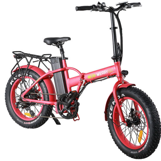Factory Price 20 Inch Folding Electric City Bike