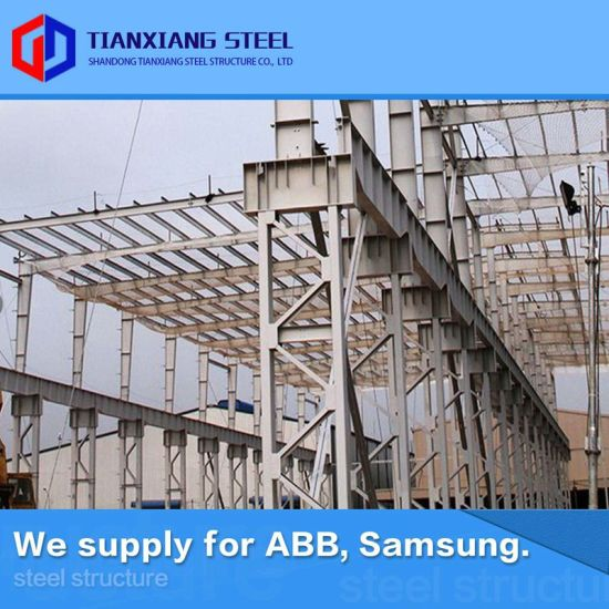 Hot-Galvanized Steel Frame Metal Building Workshop