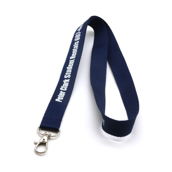 Custom Lanyard Silk Screen Printed Lanyard with Plastic Buckle pictures & photos