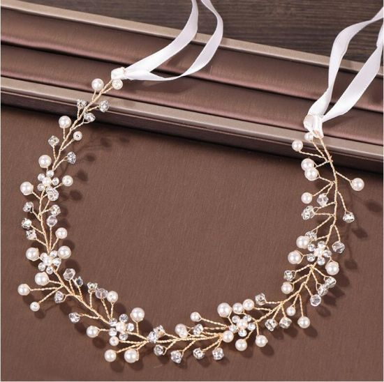 China Handmade Pearl Crystal Wedding Hair Accessories Fashion