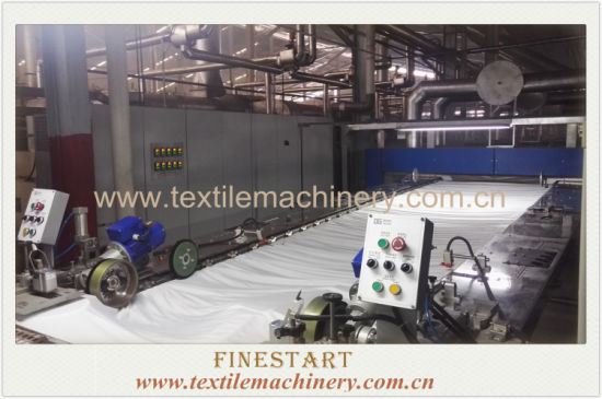 Heat-Setting Stenter for Textile Finishing Machine