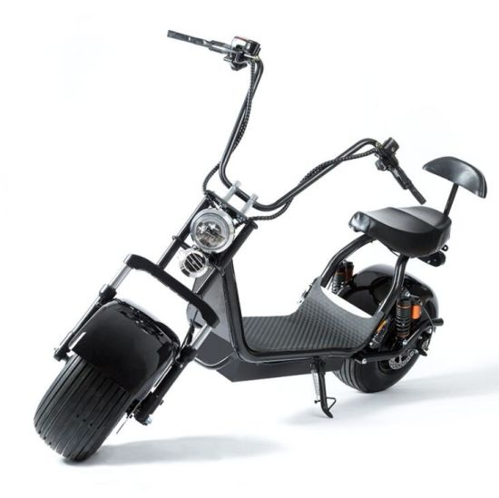 Removable Battery EEC Coc 800W 1500W 2000W 3000W Fat Tire Halley Electric Scooter Scrooser Citycoco Double Battery