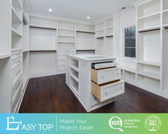 Luxury European Design Bedroom Furniture Walk in Cloest Wardrobe Cabinets