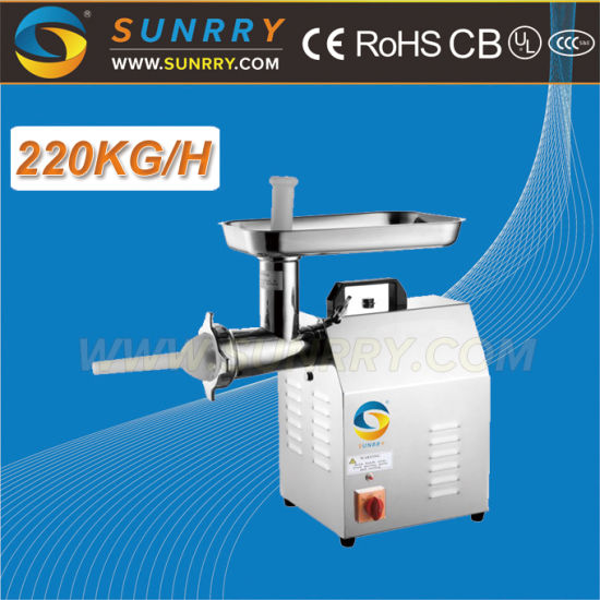 High Quality Comercial Meat Mincer Machine Capacity Is 220 Kg/Hr