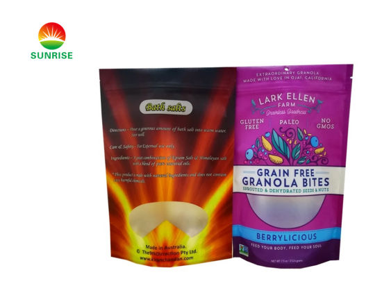 Wholesale Medical Matte Smell Proof Weed Foil Packaging Edible Mylar Plastic Bags