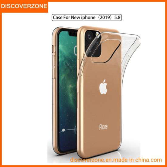 China Supplier IPhone11 Mobile Phone Case Transparent 0.8mm TPU Waterproof Protective Cover For iPhone11 Pro Max Cell Phone Case