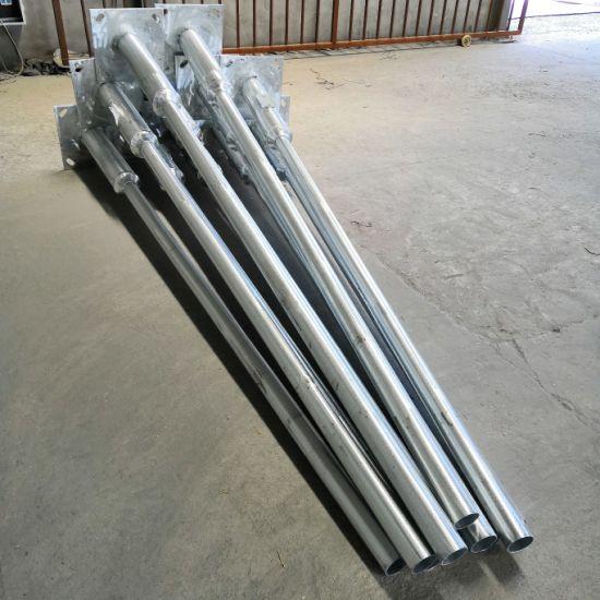 3~13m Street Light Pole Factory Direct Outdoor Galvanized Q235 Street Lighting Pole