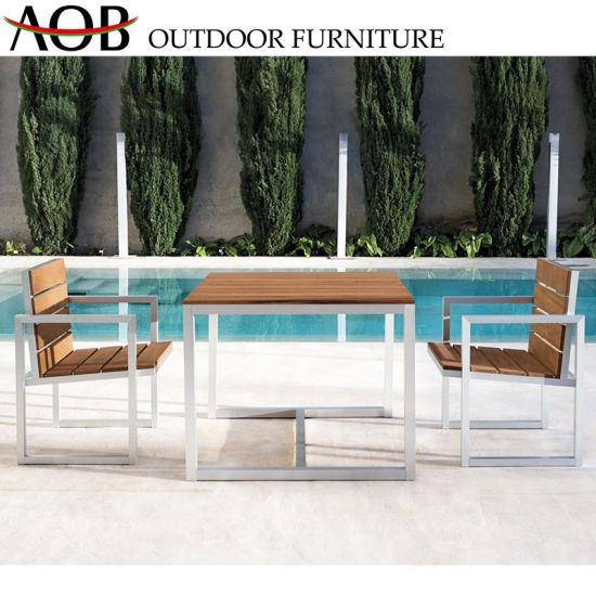 China Contemporary Outdoor Garden Furniture Aluminium Villa Leisure Table And Chairs Balcony Sets China Patio Furniture Chinese Furniture
