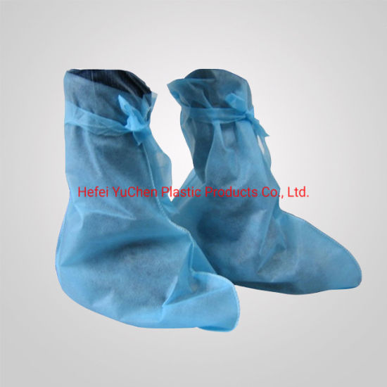 2019 Best Price Customized Disposable Nonwoven Waterproof Rain Boot Shoe Cover