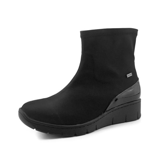 China Greatshoe Cheap High Heels For Women Winter Short Ankle Boots Shoes Waterproof Winter Shoes For Women Black Boots China Women Ankle Boots And Heel Ankle Boots Price