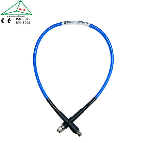 PUR Jacket DC-26.5GHz 50 Ohms 3.5mm SMA, N, TNC Type Connector MW Millimeter-Wave Ultra-Flexible Test Cable Assembly