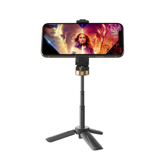 Premium Mini Tripod Phone Mount, extendable Table Top Stand for Smartphones, Compact Cameras pictures & photos