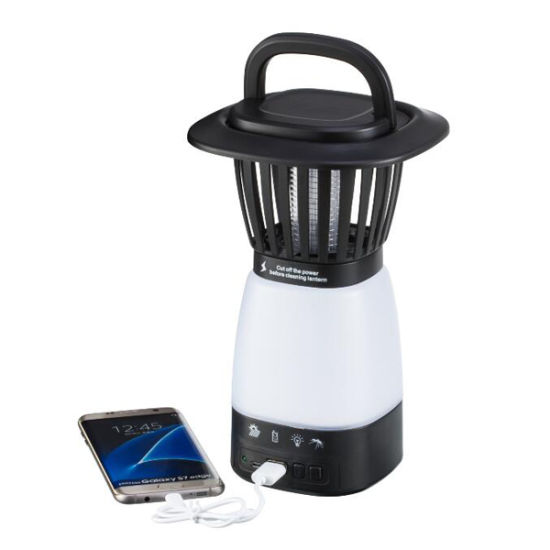 2 in 1 Rechargeable LED Mosquito Killer Lantern Bug Zapper Insect Killer Trap pictures & photos