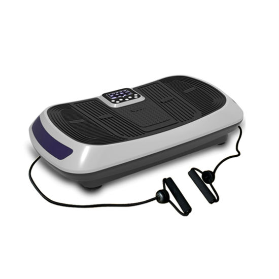 Dual Motor Full Body Fitness Exercise Machine Vibration Plate Crazy Fit Massage