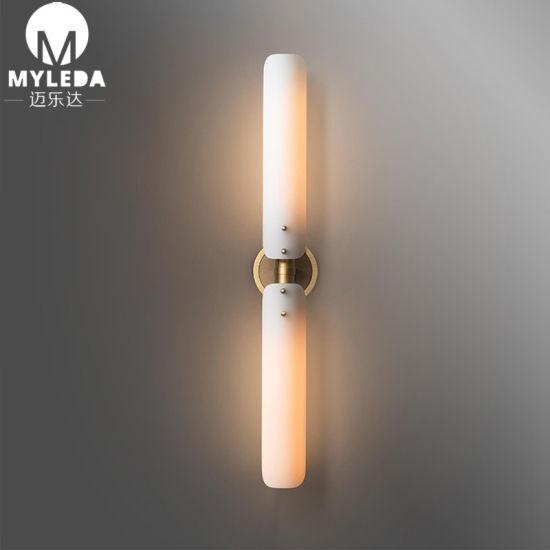 Modern Vanity Copper Wall Sconce Golden Wall Lighting Bathroom Mirror Wall Lights