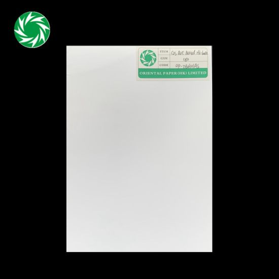Factory Price Printing Coated Two Side Paper Board
