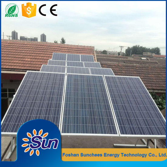 China 5kw 10kw Pv Solar Panels Off Grid Power System Kit Take Tv Lights Fan Computer Air Conditioner Fridge All House Load China Solar Panel Kits For Home Grid System Solar Thermal Panel