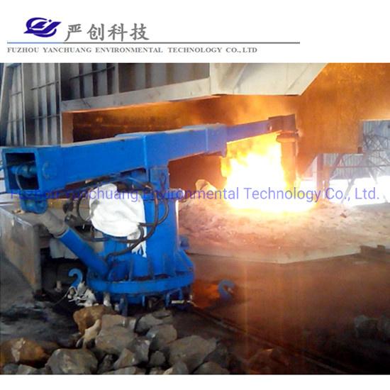 Induction Melting Furnace Manipulator Steelmaking Saving Melting Time