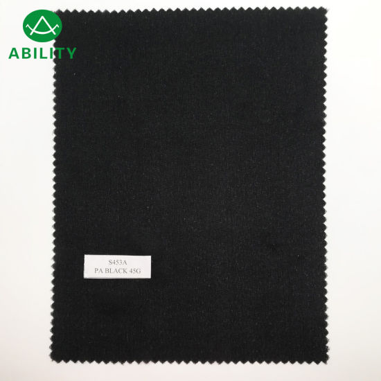 S453A Double DOT Fusible Knitted Woven Interlining for Suit