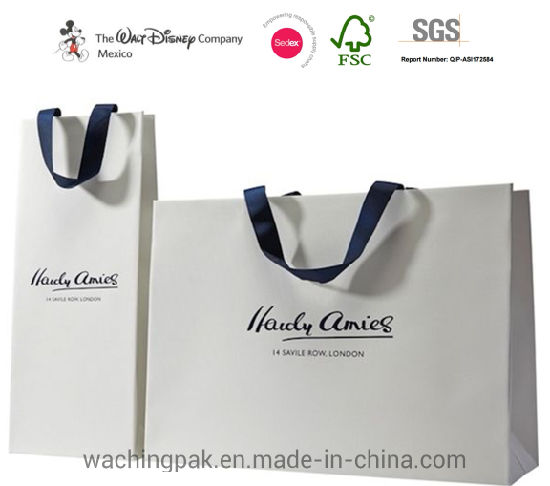 Promotional Custom Colorful Carrier Shopping Packaging Gift Paper Bag Kraft Shopping Bag pictures & photos