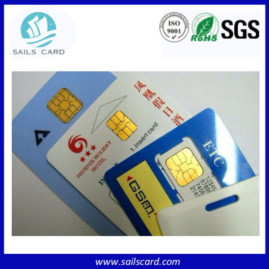 Sle5542/FM4442 Pre-Printed Blank Contact IC Card pictures & photos