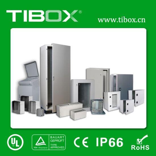 High Quality Metal Cabinet Waterproof Plexiglass Door Inner Door Metal Wall Mount  Enclosure Box Tibox
