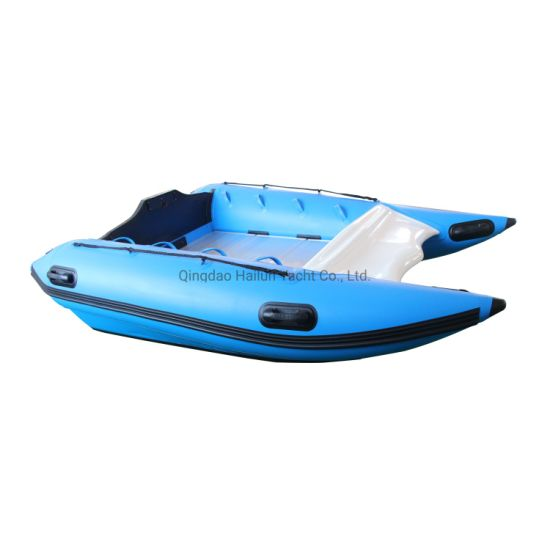 Inflatable Catamaran Boat  Rescue Boat Rowing Boat Rigid Inflatable Boat Inflatable Rib Boat