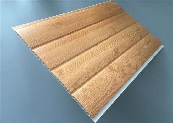 Waterproof Interior Wooden Design Pvc Ceiling Panels