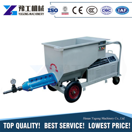 Yugong High Quality Cenent Screw Pump Construction Equipment Price pictures & photos