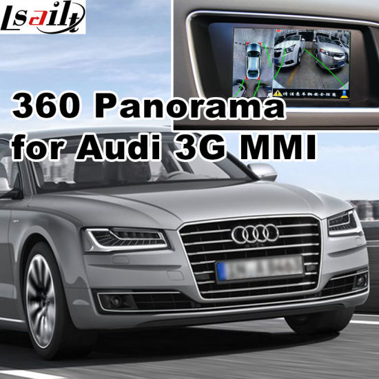 Rear View & 360 Panorama Interface for Audi 3G Mmi System Lvds RGB Signal Input Cast Screen pictures & photos