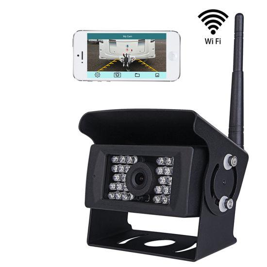 Car Backup Camera and 5/'/' Rear View Monitor Kit For Vehicle Truck Van Caravan RV