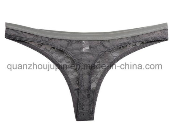 09223cf621f China OEM Fashion Sexy Transparent Women G-String Thong Underwear ...