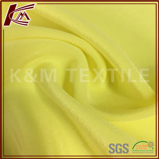 Silk Cdc Solid Dyed 100% Silk Crepe Fabric 14mm for Dress