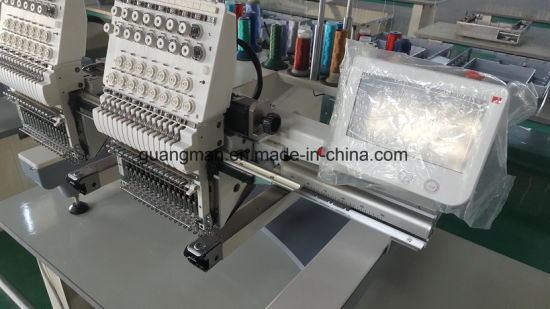 Hye-T 1502/400*450 Cap/Tube Embroidery Machine pictures & photos