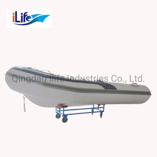 Ilife 0.9 mm PVC Luxury Boats Inflatable Fiberglass Fishing Boat for Sale