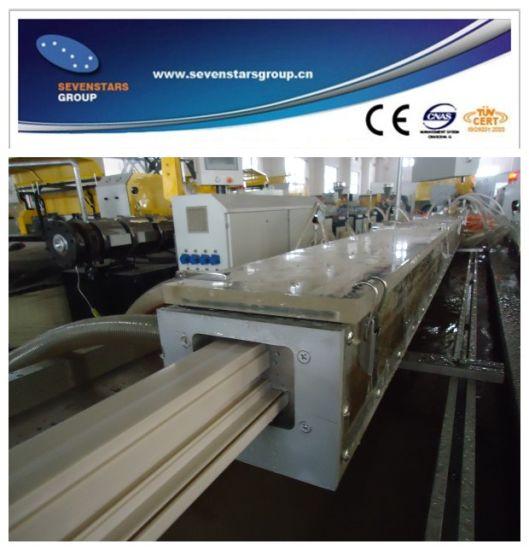 PVC Plastic Profile Extrusion Line with Supurb Quality