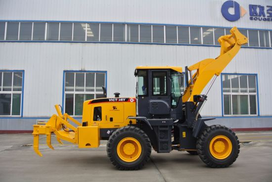 Construction Machine 3ton Wheel Loader with Bigger Cabin pictures & photos