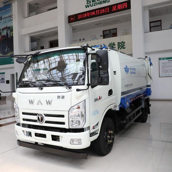 Waw Compression Compactor Waste Garbage Truck