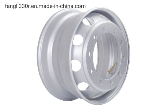 Special Transportation Vehicle Steel Hub Steel Wheel 22.5*8.5 (Suitable for Steyr Truck And Low Plate Transport Vehicle) pictures & photos