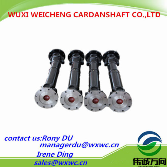Fabricating SWC Light Duty Series Cardan Shaft/Drive Shaft Designed for Machinery pictures & photos